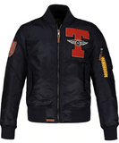 Top Gun Lined Nylon Jacket
