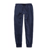 Sporty Full Length Elastic Waist Sweatpants