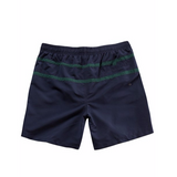 Contrast Stripe Quick Dry Swim Shorts - LIMITLESSXL