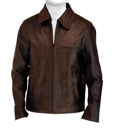 PANA MENS LEATHER COAT