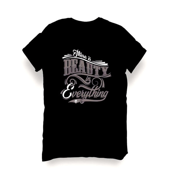 BLACK T SHIRT (BEAUTY) - LIMITLESSXL
