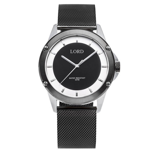 Bolt Black White Mesh - LIMITLESSXL