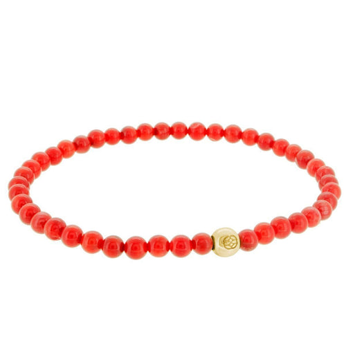 BUDONI RED CORAL 10K GOLD - LIMITLESSXL
