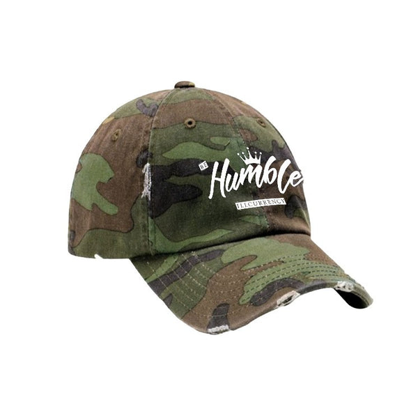 Camo Hat (Be humble white) - LIMITLESSXL