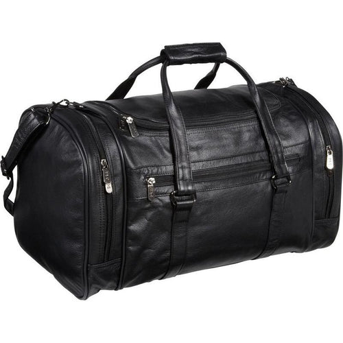 MR NERO -  LEATHER MEN'S DUFFEL