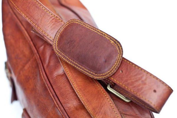MR JONES - VINTAGE LEATHER OVERNIGHTER