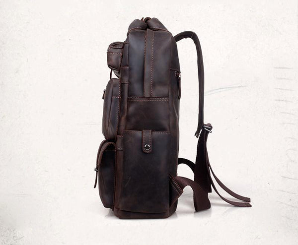 THE PENELOPE LEATHER BACKPACK