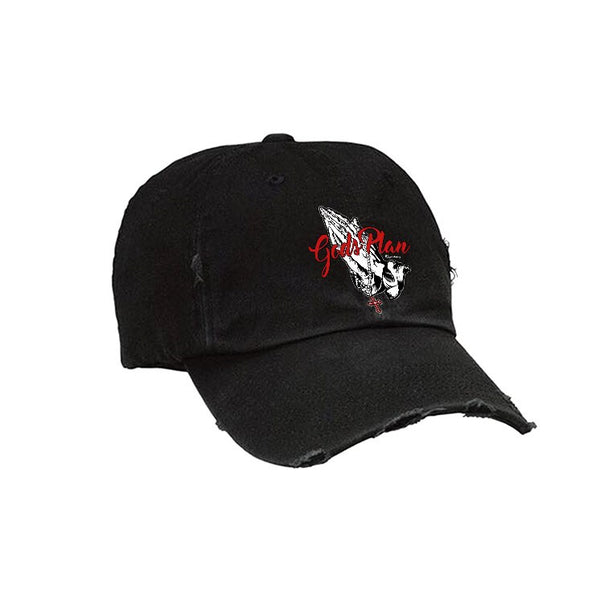 Official IllCurrency Hat Collection Black T (Gods Plan Red1)