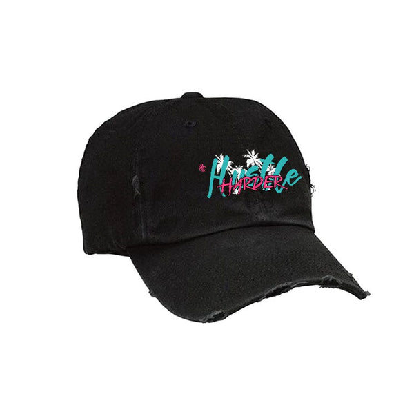 Official IllCurrency Hat Black Hat (Hustle Harder air max 97 south beach)