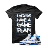 BLACK T SHIRT (GAME PLAN) - LIMITLESSXL