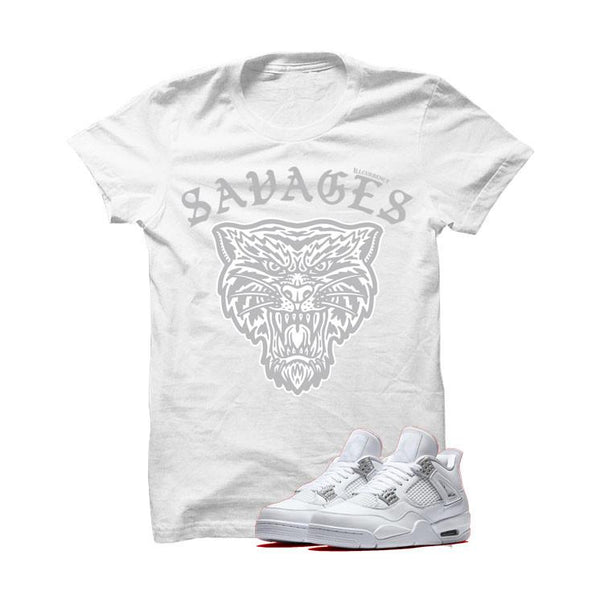 WHITE T SHIRT (ILLCURRENCY SAVAGES)