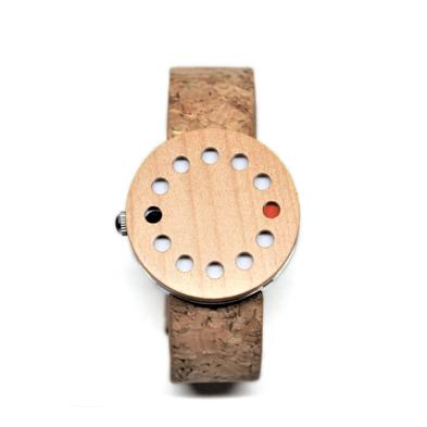 It's About Time Wood/Cork Watch