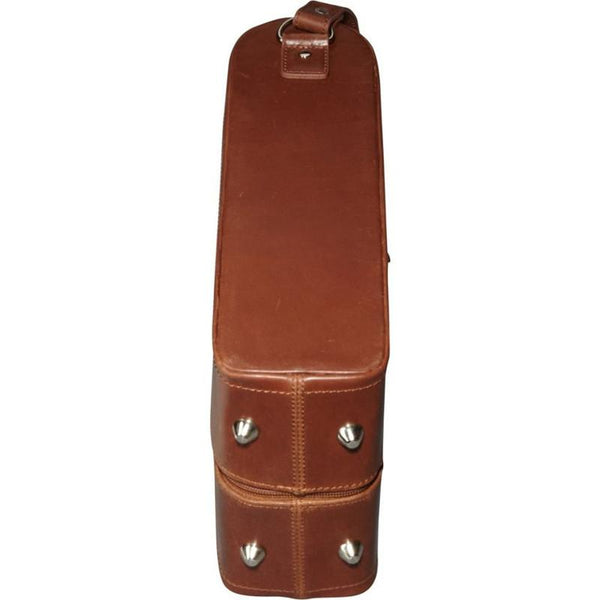 THE ROSILYN LEATHER WINE COVER - 2 BOTTLE
