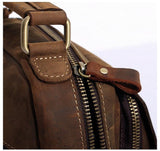 THE WILTON LEATHER CROSSBODY IPAD BAG