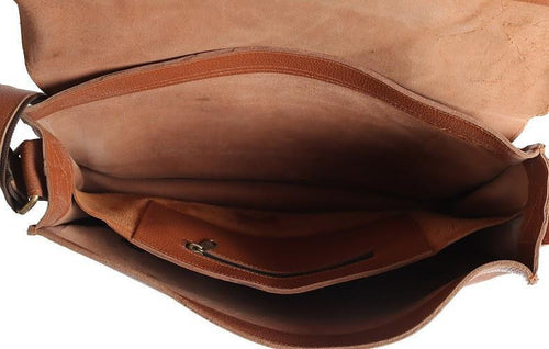 THE LEO - LEATHER MESSENGER BAG FOR MEN - LIMITLESSXL