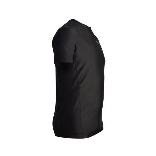 MEN'S SHORT SLEEVE PERFORMANCE TOP – JET BLACK