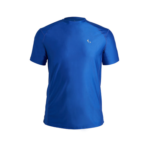MEN'S SHORT SLEEVE PERFORMANCE TOP – FEDERAL BLUE