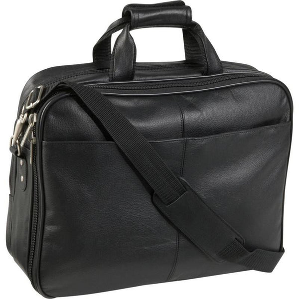 MR NOIR - LEATHER LAPTOP BRIEFCASE
