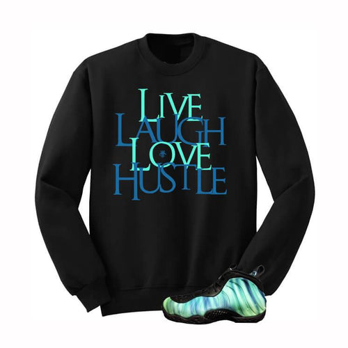 BLACK SWEATERSHIRT (LOVE HUSTLE) - LIMITLESSXL