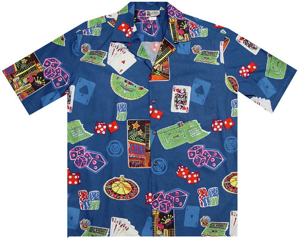 Las Vegas Touch Men's Hawaiian Shirt