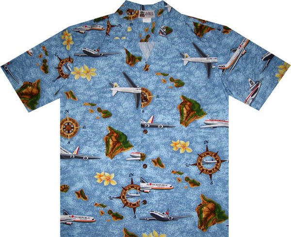 Island Wings Hawaiian Shirt