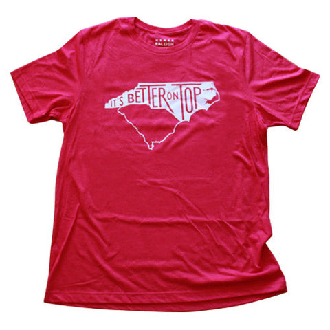 Battle of the Carolinas Tee (Wolfpack Red)