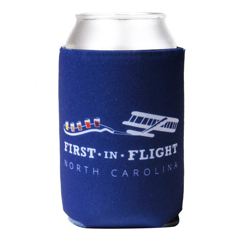 First In Flight Koozie