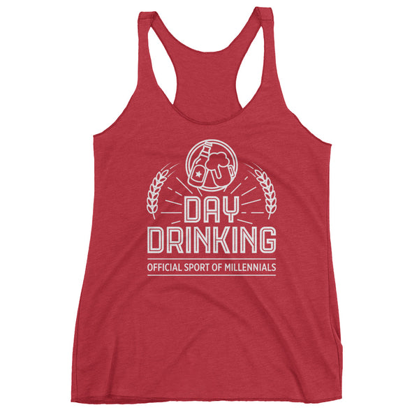 Day Drinking Racerback Tank