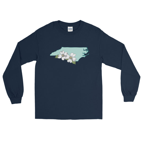 Flowering Dogwood Long Sleeve T-Shirt