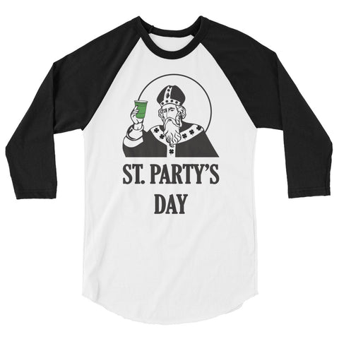 St. Party's Day Baseball Tee