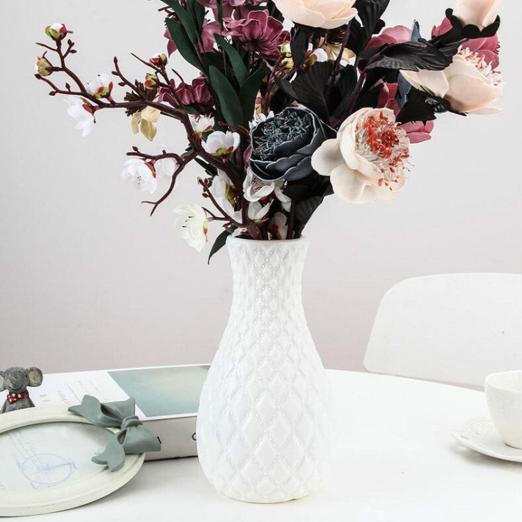 Dry And Wet Flower Arrangement Container Hydroponic Plastic Vase Home Kitchentee