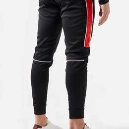Mercier Poly Signature Bottoms - Black/Red