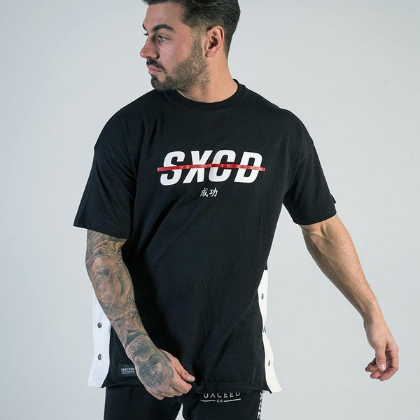 SXCD Poppers T-shirt - Black