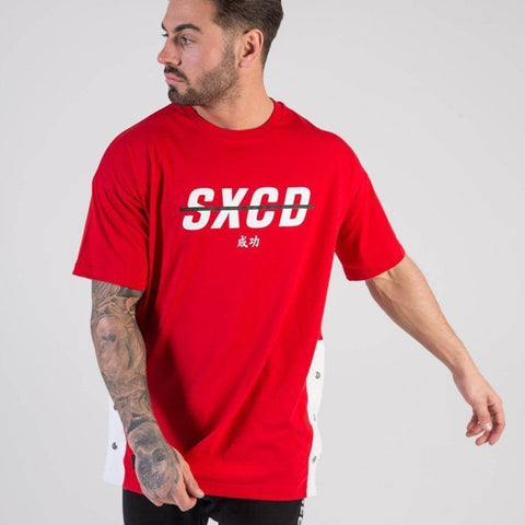 SXCD Poppers T-shirt - Red