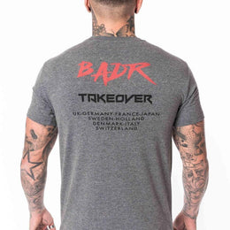 Takeover T-shirt - Charcoal