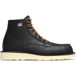 "Danner Bull Run Moc Toe 6"" - Black"