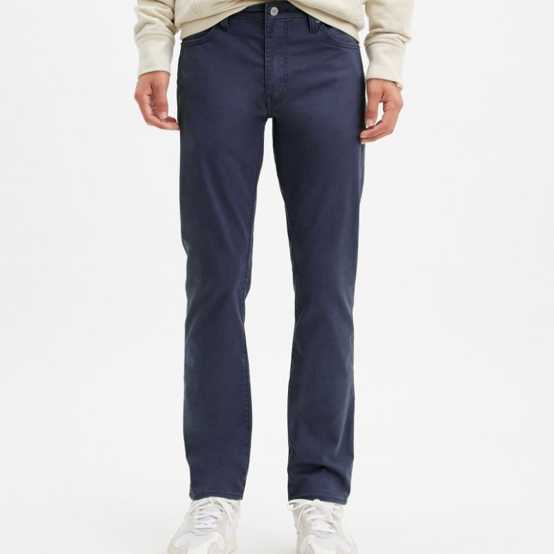 Levis 511 Slim Fit Sueded Jeans - Baltic Navy