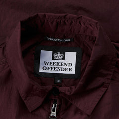 Weekend Offender Vinnie Jacket - Burgundy