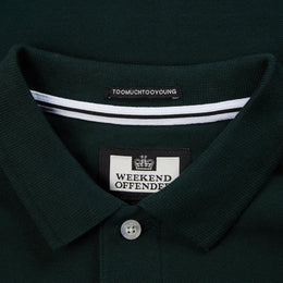 Weekend Offender Oruro T-shirt - Deep Forest