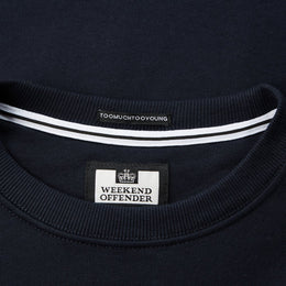 Weekend Offender F Bomb Sweat - Navy