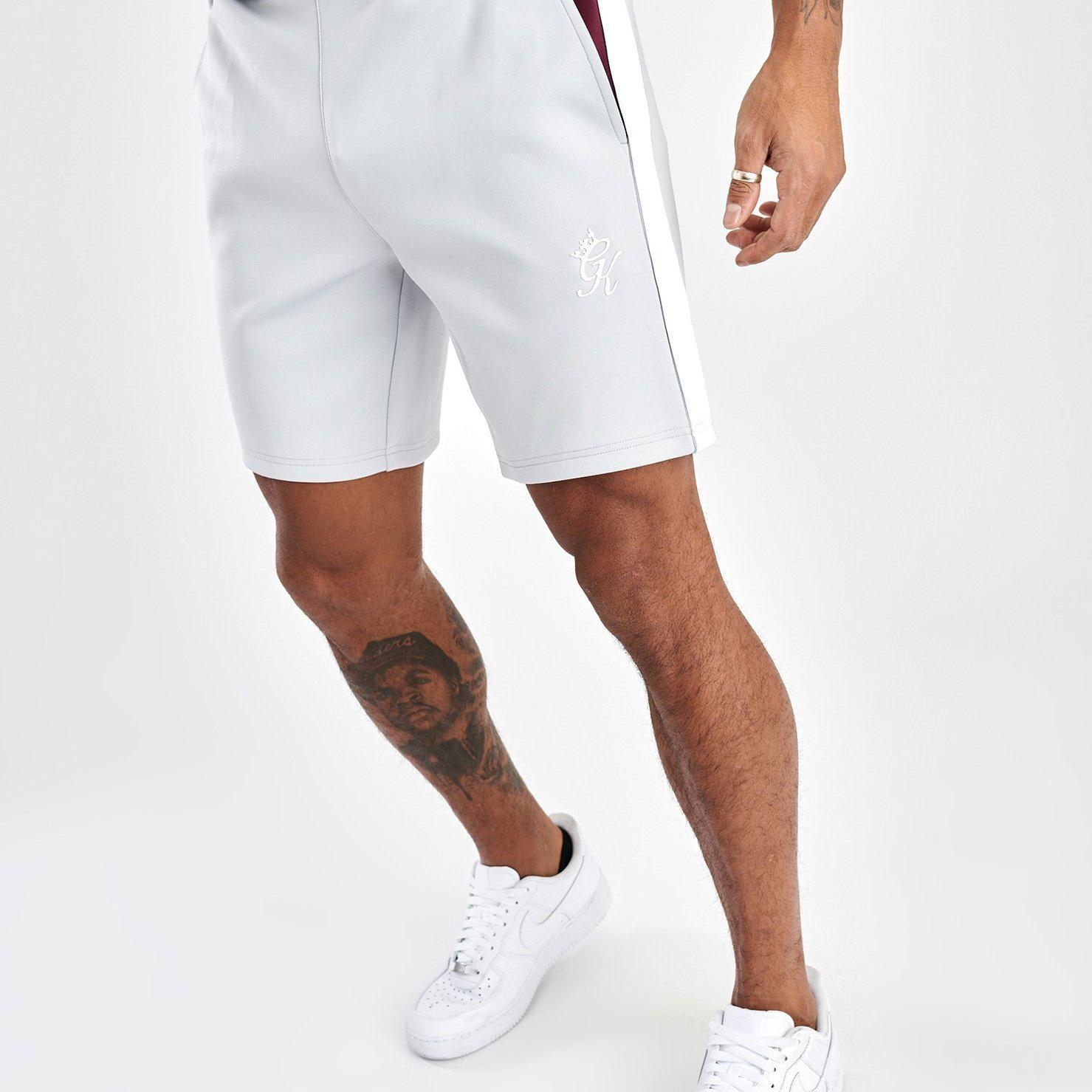 Gym King Core Plus Contrast Poly Short - Microchip