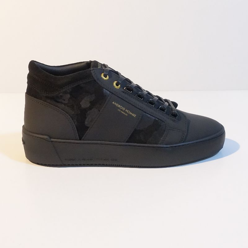 Android Homme Propulsion Mid - Black Gomma Leather