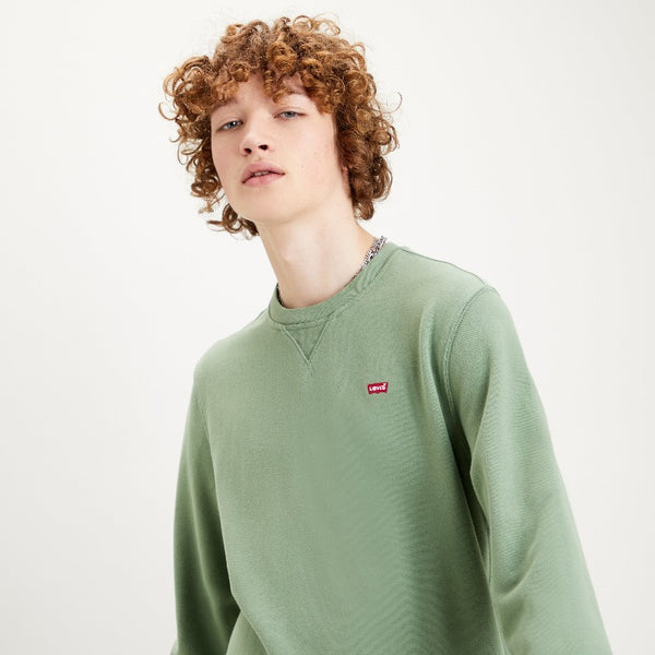 Levis Original Crewneck Sweatshirt - Hedge Green