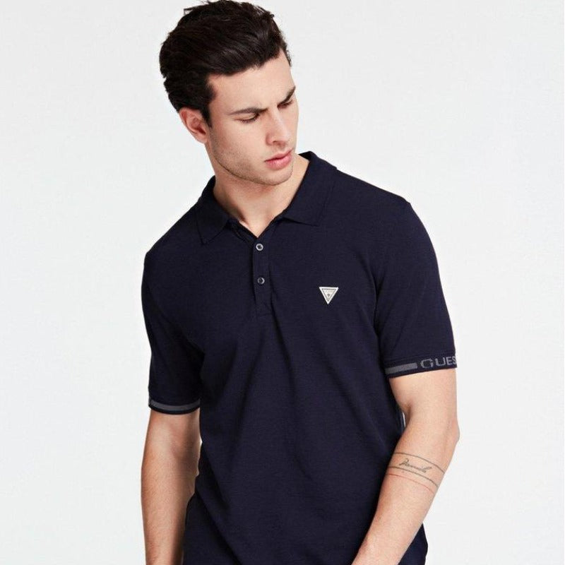 Guess Geoff SS Polo - Navy