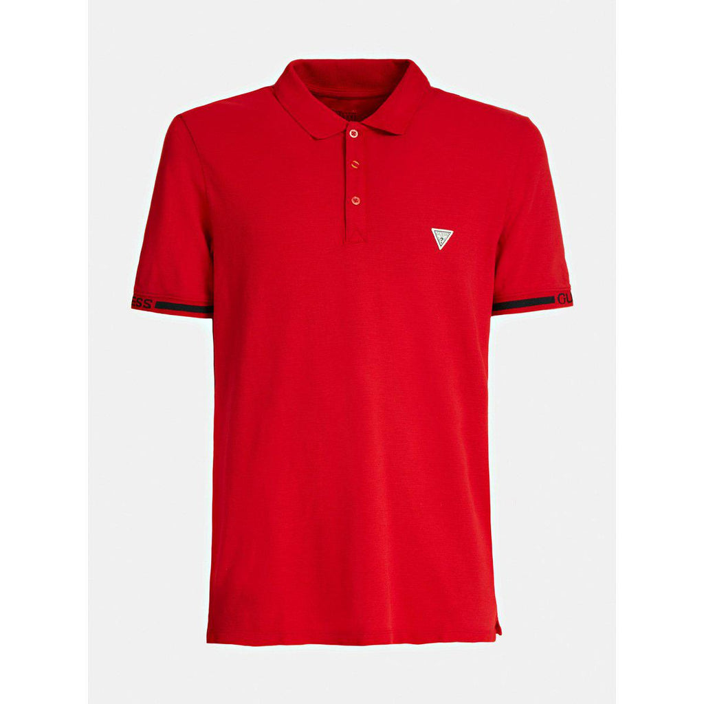 Guess Geoff SS Polo - Red