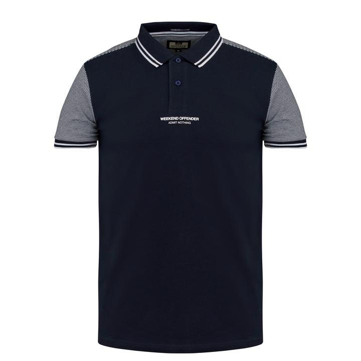 Weekend Offender Henry Polo Shirt - Navy