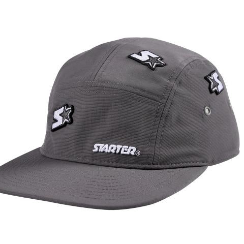 Starter Santa Monica 5 Panel Cap in Nylon - Grey