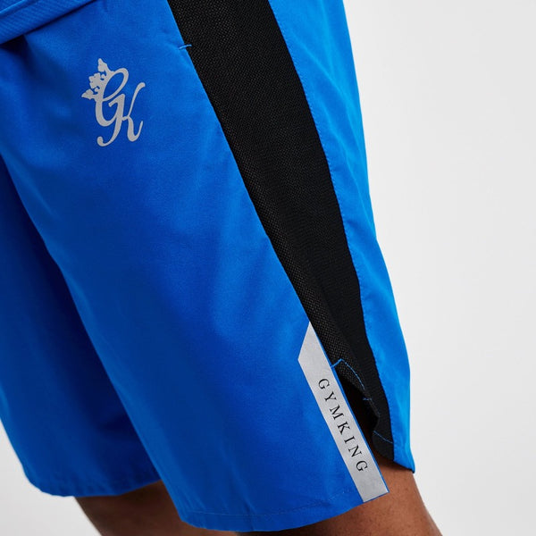 Gym King Sport Active Woven Shorts - Blue