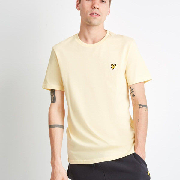 Lyle and Scott Crew Neck T-shirt - Buttercream