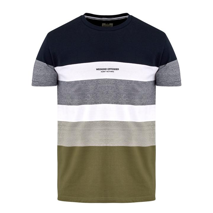 Weekend Offender Freemont T-shirt - Navy